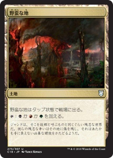 画像1: 【C18】《野蛮な地/Savage Lands》【U】 (1)