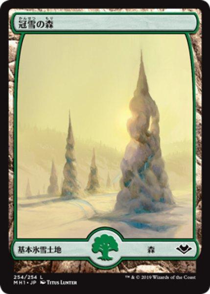 画像1: 【MH1】《冠雪の森/Snow-Covered Forest》【C】 (1)